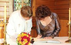 Anglican church wedding Hanmer Springs