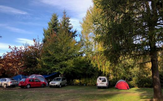 tent sites at Hanmer top 10 holiday park