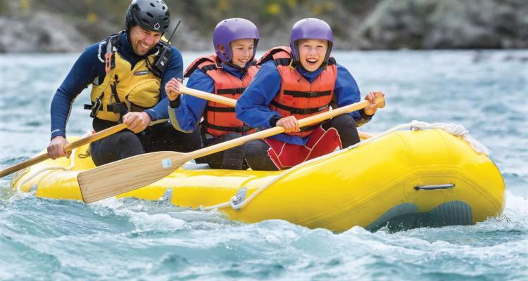 canoeing Hanmer Springs