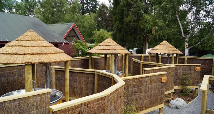 Hanmer Springs Top 10 Holiday Park hot tubs