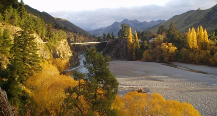 autumn in Hanmer Springs