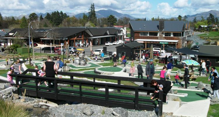 Alpine Crazy Putt Hanmer Springs