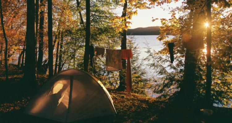 clothesline camping tips