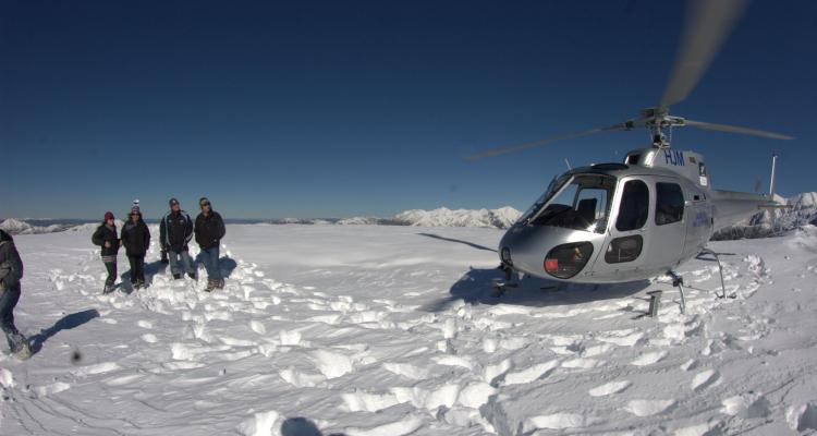 hanmer helicopters snow