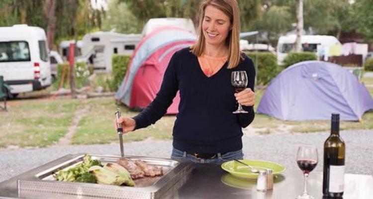 BBQs at Hanmer Springs Holiday Park